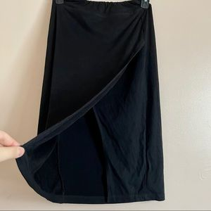 RD Style Soft Elasticated Pencil Skirt w/ Slit